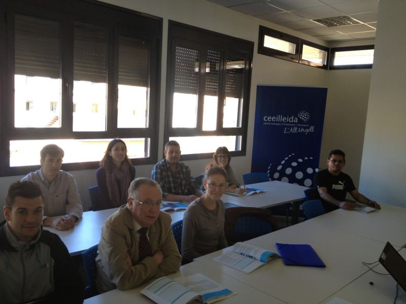 (Català) El Cei Alt Urgell, ha clausurat el Taller per a plans d'empresa amb la participació d'alumnes de l'Alt Urgell, la Cerdanya i Andorra