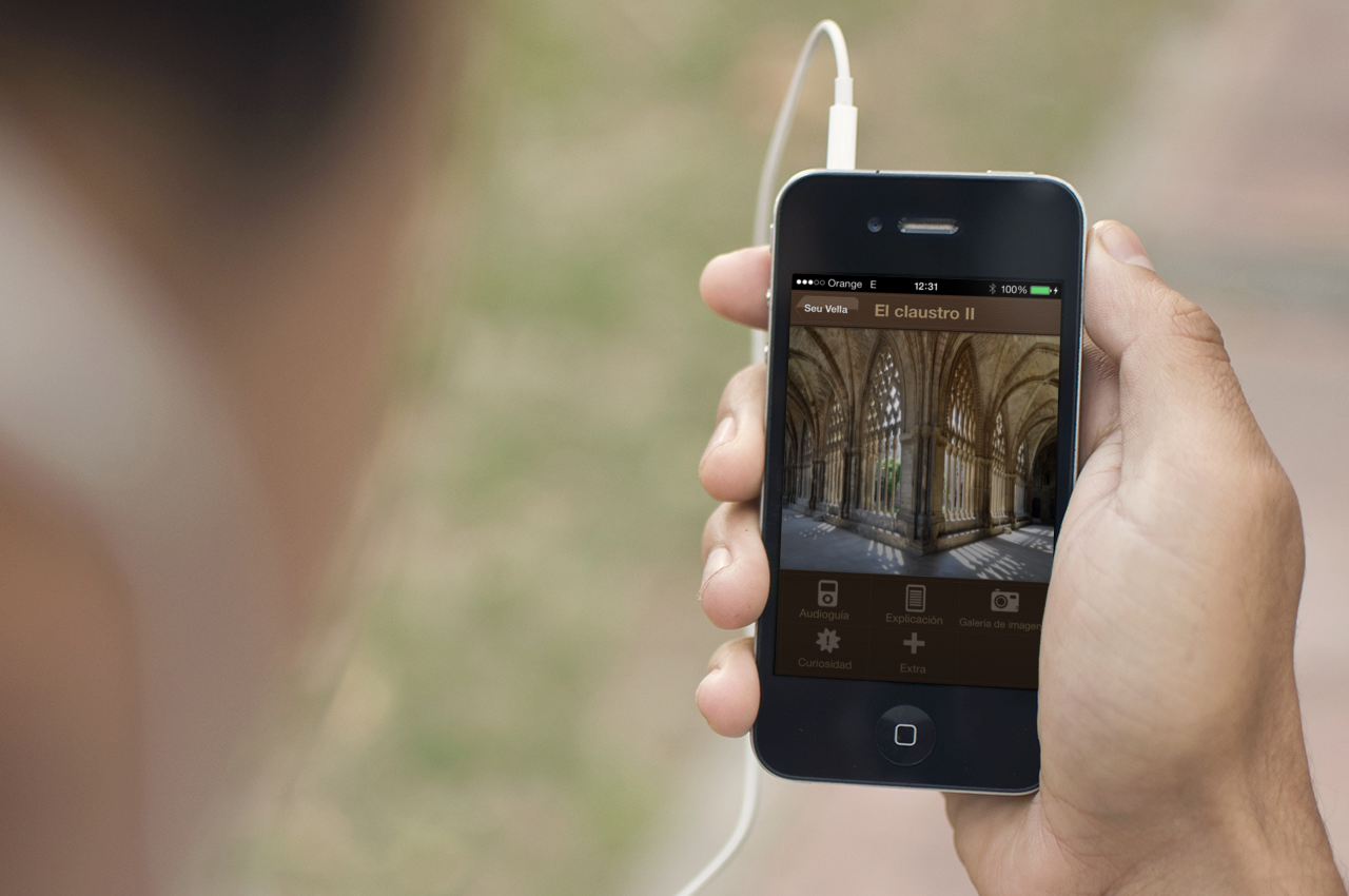 (Català) Dos empreses de la Xarxa de Centres d'Empreses Innovadores, creen una aplicació per a mòbils del Turó de la Seu Vella de Lleida