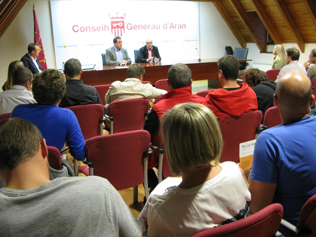 """(Català) Presentació de la primera fase del programa """"Rural100"""" a la Val d'Aran"""