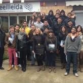 Estudiants de l'últim curs del Grau d'ADE, visiten el Ceeilleida.