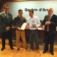 L'empresa aranesa, Arantec Enginheria S.L, rep la certificació EIBT