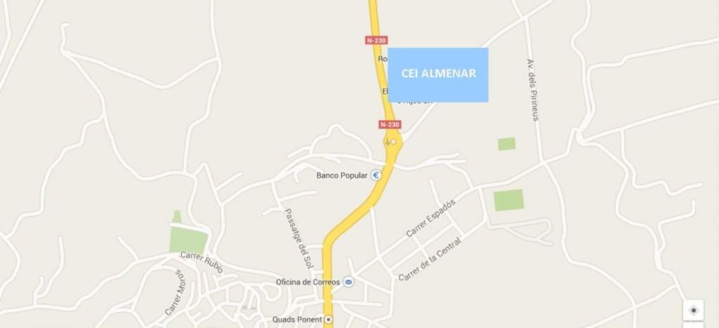 mapa CEI