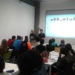 Visita d'alumnes de quart d'ESO de l'IES Guissona al CEI Tàrrega