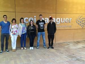 Estudiants i professors de l'IES Almatà han visitat el CEI Balaguer