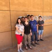 Un grup de joves del centre Acser visita el CEI Balaguer