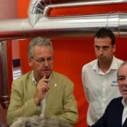 Reñé inaugura la Planta de biomassa de l'Hospital Comarcal del Pallars implantada per Imartec Energia