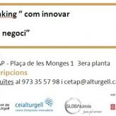 """(Català) Taller de design thinking """"com innovar en el teu negoci"""""""