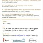 (Català) Comença una nova edició dels Dijous Emprenedors al CEI Alta Ribagorça