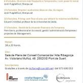 Comença una nova edició dels Dijous Emprenedors al CEI Alta Ribagorça