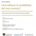 """""""Com millorar la rendibilitat del meu comerç?"""", al CEI Pallars Jussà"""