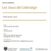 """Càpsula formativa """"Les claus del Lideratge"""", al CEI Pallars Jussà"""