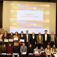 Celebració de la tercera edició del Premis E2, Escola d'Emprenedors 2016