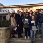 Estudiants de l'Acadèmia Martínez visiten el Ceeilleida