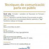 (Català) Càpsula al Ceeilleida sobre com parlar bé en públic