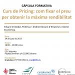 (Català) Curs de Pricing: com fixar el preu per obtenir la màxima rendibilitat