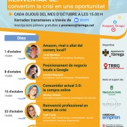 (Català) L'Ajuntament de Tàrrega assessora el sector del comerç i serveis sobre les noves estratègies de negoci davant la digitalització